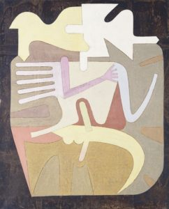 Total Androgyny; Totalite Androgyne VI. Victor Brauner (1903-1966). Oil on canvas. Painted in 1961. 100 x 81cm.